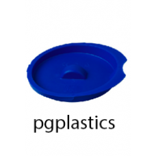 PLASTIC DEKSEL BLAUW VOOR KARAF / PITCHER 1L (PP) FROST - 24 st/ds