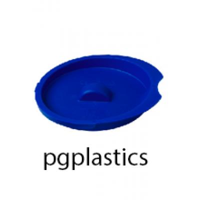 PLASTIC DEKSEL BLAUW, KARAF / PITCHER 2L (PP) FROST - 12 st/ds