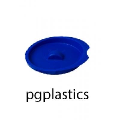 PLASTIC DEKSEL BLAUW VOOR KARAF / PITCHER 0.5L (PP) FROST - 40 st/ds