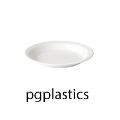 PLASTIC BORD 20cm (PC) Onbreekbaar Roltex - 50 st/ds