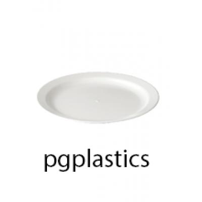 PLASTIC BORD 23cm (PC) Onbreekbaar Roltex - 40 st/ds