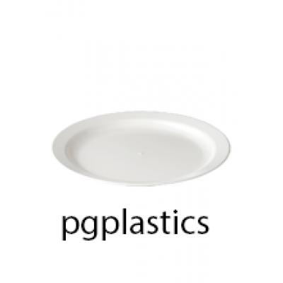 PLASTIC BORD 25.5cm (PC) Onbreekbaar Roltex - 32 st/ds