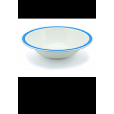 PLASTIC BORD KOMMETJE BLAUW 40cl (PC) Onbreekbaar Harfield - 50 st/ds