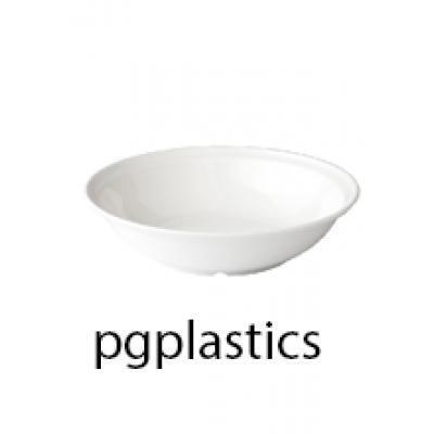 PLASTIC DIEP BORD 25.5cm (PC) Onbreekbaar Roltex - 36 st/ds