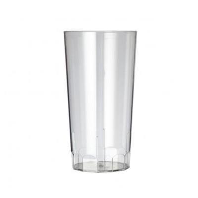 100 x Plastic Longdrinkglazen 28.5cl Onbreekbaar Eco Reeks