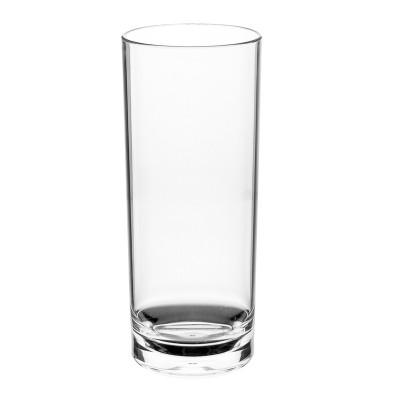 PLASTIC LONGDRINKGLAS 30cl (PC) Onbreekbaar Top Roltex - 50 st/ds