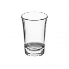 100x Plastic Jeneverglas Shotglas 3,4cl PC Onbreekbaar