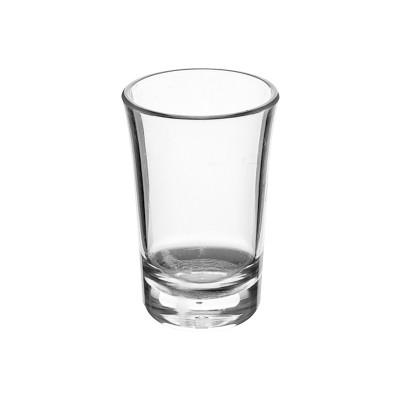 PLASTIC SHOTGLAS SHOTTY 34ml (PC) Onbreekbaar Top Roltex - 100 st/ds