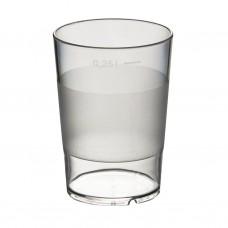 50x Plastic Bekers 28cl BPA FREE Onbreekbaar