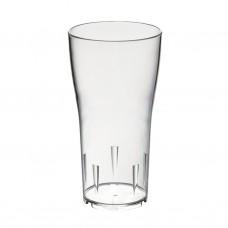 104x Plastic Bierglazen Tulp 30cl Onbreekbaar