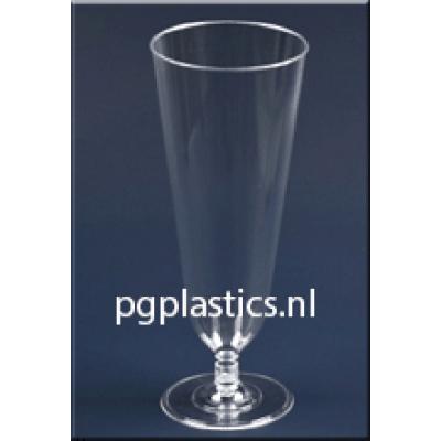 PLASTIC BIERBEKER DUITS 350 ml (PS)   - 350st/ds