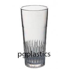 PLASTIC BIERGLAS, Belgisch ribbel, 30cl (PC) Onbreekbaar - 50 st/ds