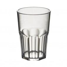 50x Plastic Cocktailglazen Caipi 43cl Onbreekbaar