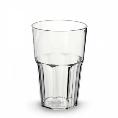 50x Plastic Cocktailgazen 34cl Onbreekbaar Eco