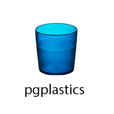 PLASTIC BEKER JUNIOR BLAUW 17cl (PC) Onbreekbaar FROST - 150 st/ds