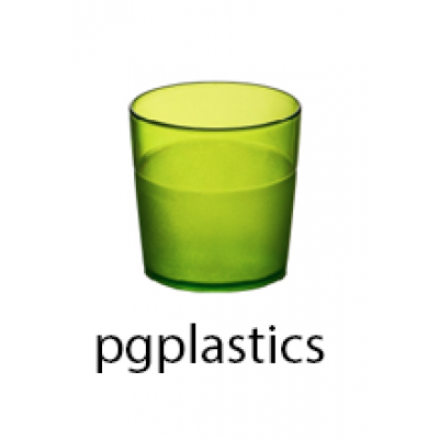 PLASTIC BEKER JUNIOR GEEL 17cl (PC) Onbreekbaar FROST - 150 st/ds