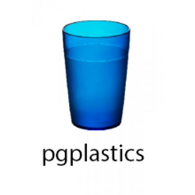 PLASTIC BEKER JUNIOR BLAUW 25cl (PC) Onbreekbaar FROST - 150 st/ds