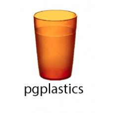 PLASTIC BEKER JUNIOR ORANJE 25cl (PC) Onbreekbaar FROST - 150 st/ds