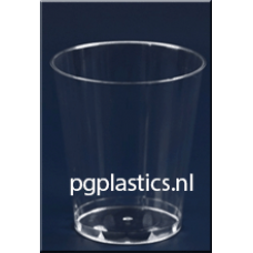 1000 x PLASTIC DRINKGLAS 24CL (PS)