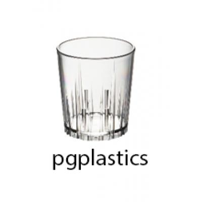 PLASTIC WATERGLAS 16cl (PC) Onbreekbaar Roltex - 50 st/ds