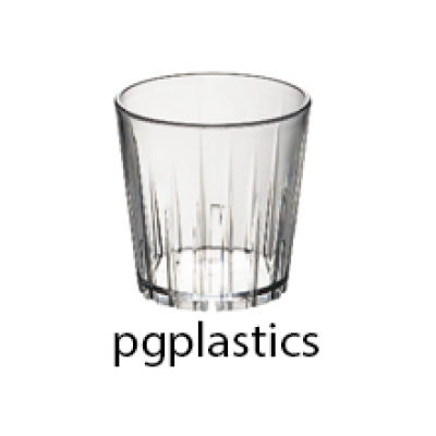 PLASTIC WATERGLAS 27cl (PC) Onbreekbaar Roltex - 50 st/ds