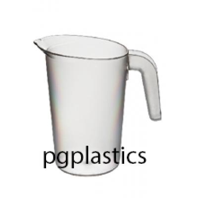 PLASTIC KARAF / PITCHER 1L (PC) Onbreekbaar FROST Roltex - 24 st/ds