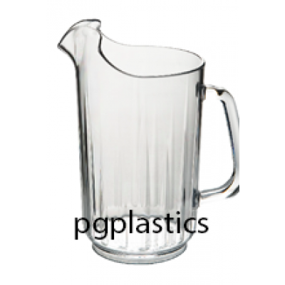 PLASTIC KARAF - PITCHER 1.40L (PC) Onbreekbaar STAR Roltex - 6 st/ds