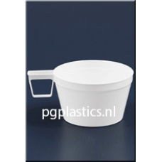PLASTIC KOFFIEBEKER 0.19L (PS) - 1000 st/ds