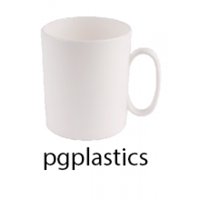 PLASTIC KOFFIEMOK KOFFIEBEKER 30cl (PC) Onbreekbaar Roltex - 50 st/ds