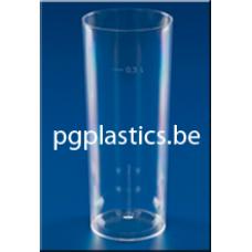 10000 x PLASTIC LONGDRINKGLAS 0.3L (PS)