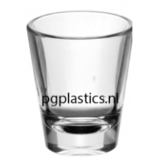 PLASTIC SHOTGLAS 45ml (PC) Onbreekbaar Tao Roltex - 50 st/ds