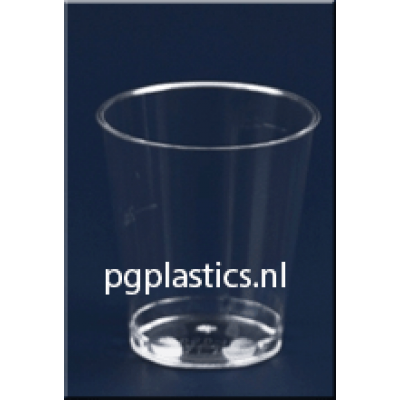 3000 x PLASTIC SHOTGLAZEN / BORRELGLAASJES 3CL (PS)