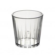50x Plastic Waterglazen 27cl Onbreekbaar Lux
