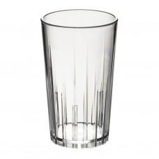 50x Plastic Waterglazen 28cl Onbreekbaar Lux