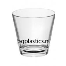 36 x PLASTIC WHISKYGLAS 350ml (PC) Onbreekbaar Tao Roltex
