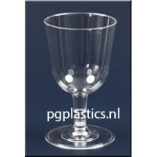 425 x Plastic Wijnglas 2-Delig 0.2L
